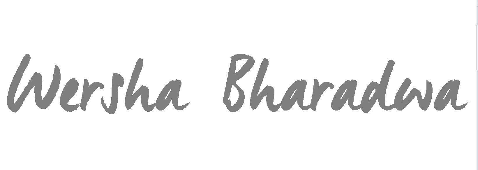 WERSHA BHARADWA